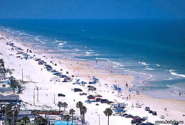 a description of summer time in daytona beach in florida