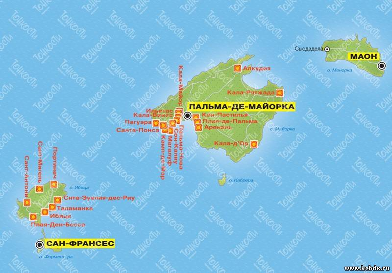 Майорка где находится какая страна